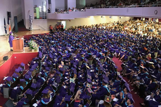 Student Speaker Addressing Graduating Class of 2018