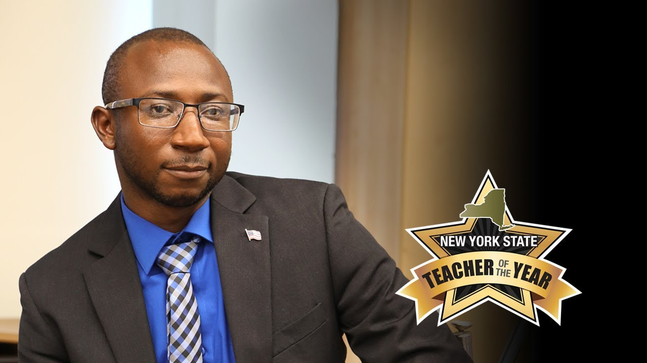 Photo of Alhassan Susso, the NYS Teacher of the Year