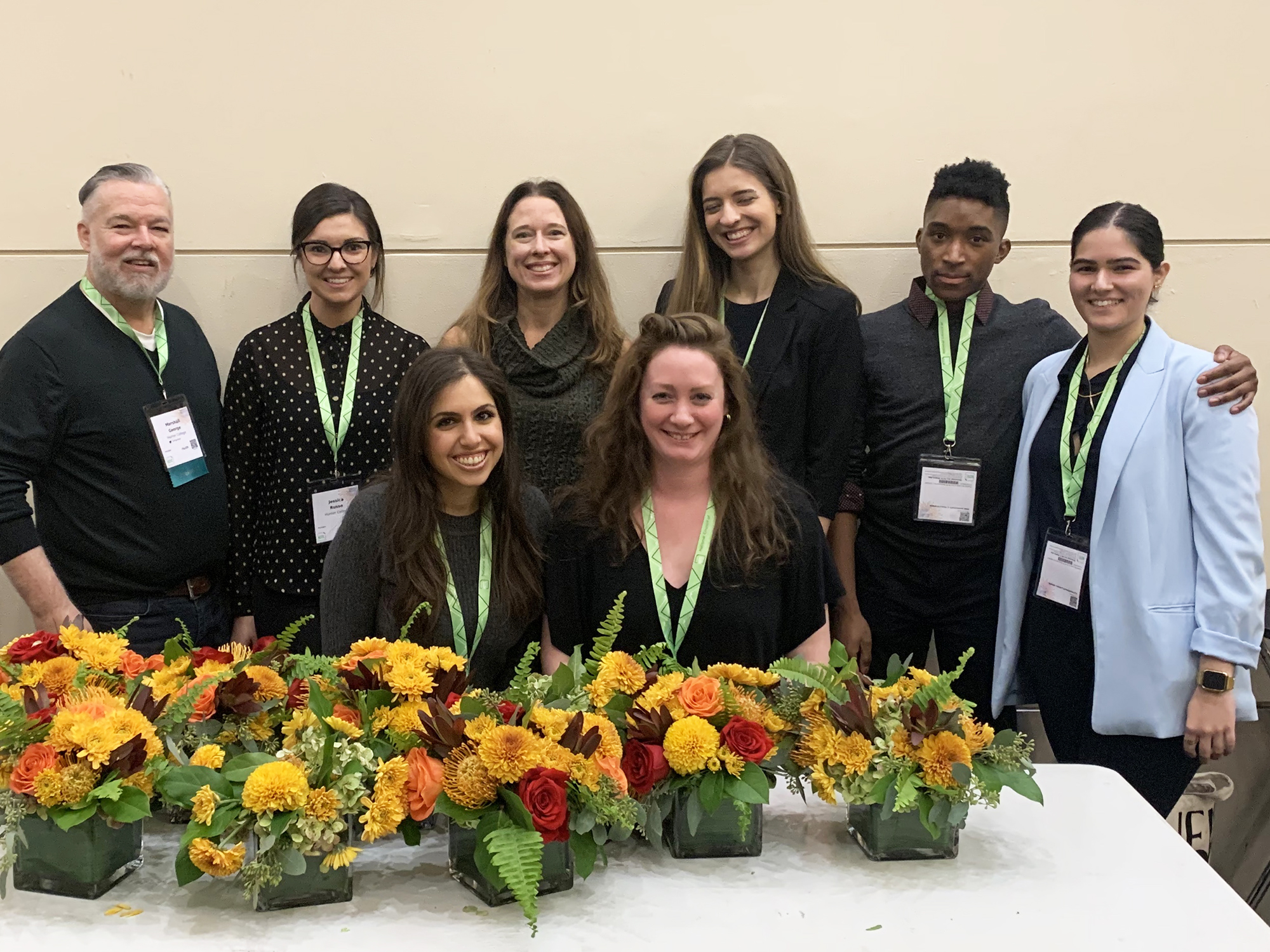 Students and Faculty at the Annual Convention of the National Council of Teachers of English in Baltimore.