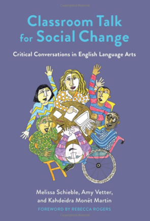 Image of the Cover of the book Classroom Talk For Social Change