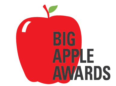 Big Apple Awards LOGO from the New York City Department of Education