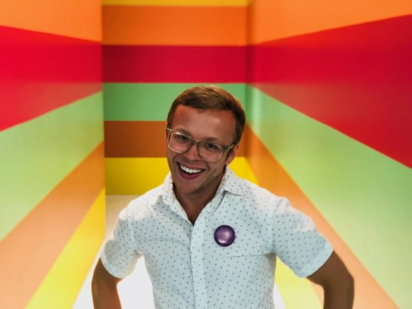 Jonathan Hooper smiling.